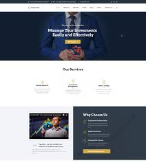 Holding Company Website Template