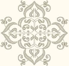 Victorian Element Embroidery Design