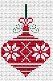 Christmas Ornament Free Cross Stitch Pattern Cross Stitch