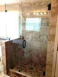 glass tile bathroom shower wall accent frosted panels walls cost regarding best half bathrooms