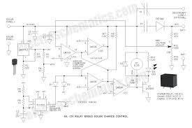 6a 12v relay solar charge control 6a 12v relay solar charge control circuit schematic
