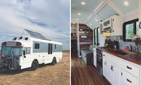 tiny house school bus. Converted School Bus Tiny House T