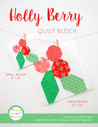 Free Designs For Quilts New Christmas Quilt Patterns Holly Berry Quilt Pattern