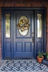 blue front doorFront Door Makeover  Ask Anna
