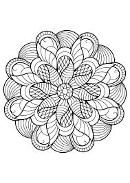 If you like the mandala and want to color it, click the print button or some mandala designs are quite complicated, and will take more effort to colour. Mandalas To Color For Kids Mandalas Kids Coloring Pages