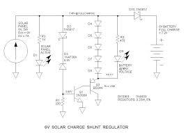 6v solar charge shunt regulator 6v solar charge shunt regulator schematic