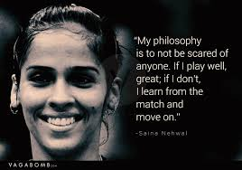 40 Inspiring Quotes By Female Athletes Of India Which Capture Their Interesting Motivational Quotes Female Athletes