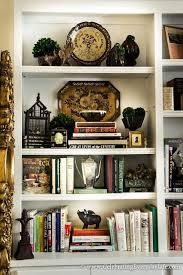 decorating bookshelf living room