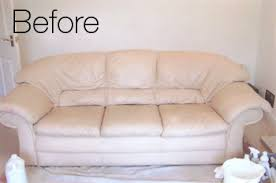 leather sofa cleaning before how to clean white leather couch e53