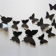 Small Picture Aliexpresscom Buy 12pcslot 3d Butterfly Wall Stickers