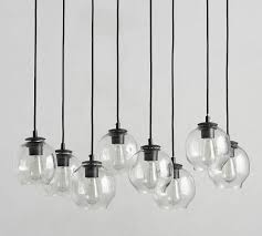 milo 8 light chandelier