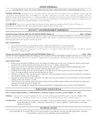 Reserve Officer Sample Resume Classy Network Security Resume Template Information Sample Engineer