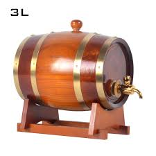 oak wine barrels. Exellent Wine 3L Oak Barrel Wooden Cask Wine Barrels Pine Keg Inner  Tant Metal Faucet Homebrewing Beer Brewing JH054in Bar Sets From Home U0026 Garden  For