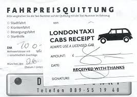 London Taxi Receipt Pdf 5 Taxi Bills Format Fare Bill Us Receipt India Sample Templates Free
