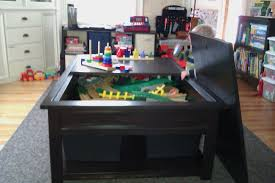Train Set Table With Drawers Playground And Toys Natural Color Of City Train Set And Table