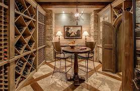 contemporary wine cellar with exposed beam chandelier zillow regard to furniture plan 5