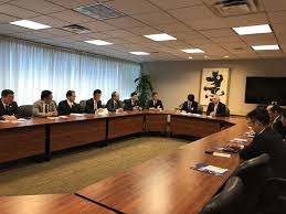 office meeting. Meeting Briefing: UNITAR New York Office With The Hiroshima City Council Delegates O
