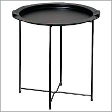 folding camping side table black metal coffee lovely chair tables