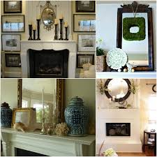 Charming Fireplace Mantel Mirror Decorating Ideas Photo Inspiration