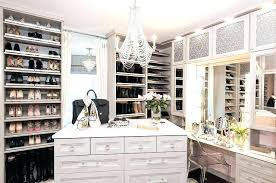 small walk in closet with vanity walk in cabinet light gray closet with mirrored makeup vanity small walk in closet with vanity