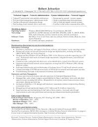 Network Technician Resume Resume For Study