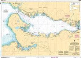 Chs Digital Charts Chs Nautical Chart 3493 Vancouver Harbour Western Portion Partie Ouest