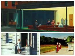 based on my admittedly limited exposure hopper s art always evoked the imagery of 1950s americana to me i suppose i d formed this mythlogy about him as