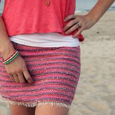 Simple Skirt Pattern Unique Micro Mini Simple Skirt Pattern AllFreeSewing