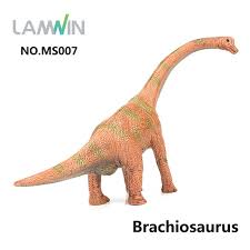 brachiosaurus size lamwin medium size colorful realistic dinosaur action figure