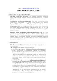Resume Sample template for Business & System Analyst Architect &  Researcher. electronic ...