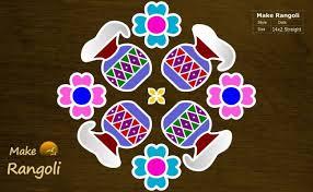 Sankranthi is one of the biggest festivals in india. Easy Pongal Pot Kolam With 77 Dots Sankranthi Bhogi Kundala Muggulu Festival Rang Rangoli 1518 Dokter Andalan