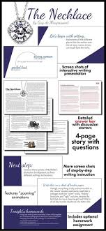 best classic short stories ideas sleeping  the necklace two day plan dynamic approach to de maupassant s short story