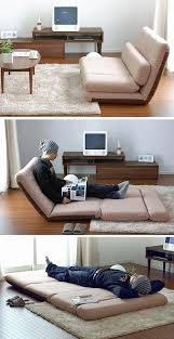 foldable furniture for small spaces. Convert-a-Couch Sofa Sleeper Bed Sage Foldable Furniture For Small Spaces
