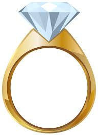 Gold Engagement Ring Png Transparent Clip Art Image Gallery