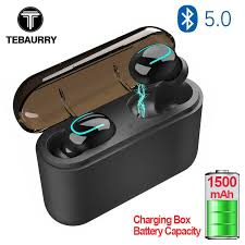 tws q32s wireless bluetooth earbuds earbuds headset sport stereo updated version