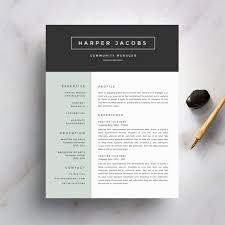 Modern Resume Cover Letters Modern Cover Letter Template Papelerasbenito