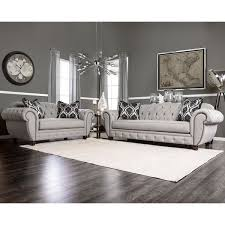 grey furniture set. Unique Grey Furniture Of America Augusta Victorian Grey 2piece Sofa Set For