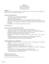 Magnificent Phlebotomist Resume Templates Certified Sample Australia