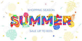 夏販売 Web バナー デザイン テンプレート オンライン ショップ広告の