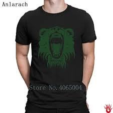 Roar Shirt Size Chart Lion Roar Tshirts Hiphop Tops Round Collar Gents Loose Mens T Shirt Summer New Fashion Short Sleeve Unique Printing Silly T Shirts Interesting T