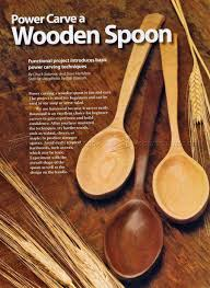 carving wooden spoons. power carving wooden spoon spoons