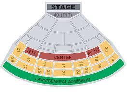 Saratoga Performing Arts Center Seating Chart With Rows Saratoga Performing Arts Center Spac Seating Chart