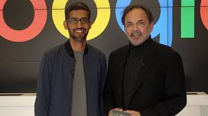 Prannoy Roy worsted by the young Sundar Pichai - Star of Mysore