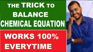 how to balance any chemical equation 01 best way to balance chemical equation