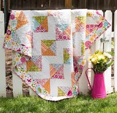7 Baby Quilt Kits That Will Delight Any Baby Boy or Girl ... & Riley Blake summer song quilt kit Adamdwight.com
