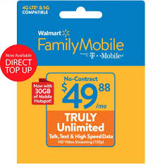 Walmart offers a health savings account to help pay on qualified health expenses. Walmart Family Mobile 49 88 Truly Unlimited Monthly Prepaid Plan 30gb Of Mobile Hotspot E Pin Top Up Email Delivery Walmart Com Walmart Com