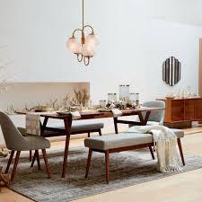 West Elm Kitchen Table Mid Century Expandable Dining Table Walnut West Elm Uk