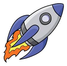 Image result for cartoon rocket ship