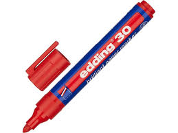 <b>Маркер</b> edding e-30/002 1.5-3mm red 719307 купить в интернет ...