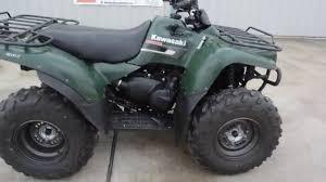 2007 Kawasaki Prairie 360 4X4 Green - YouTube